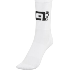 Alé Cycling Q-Skin High Socks white